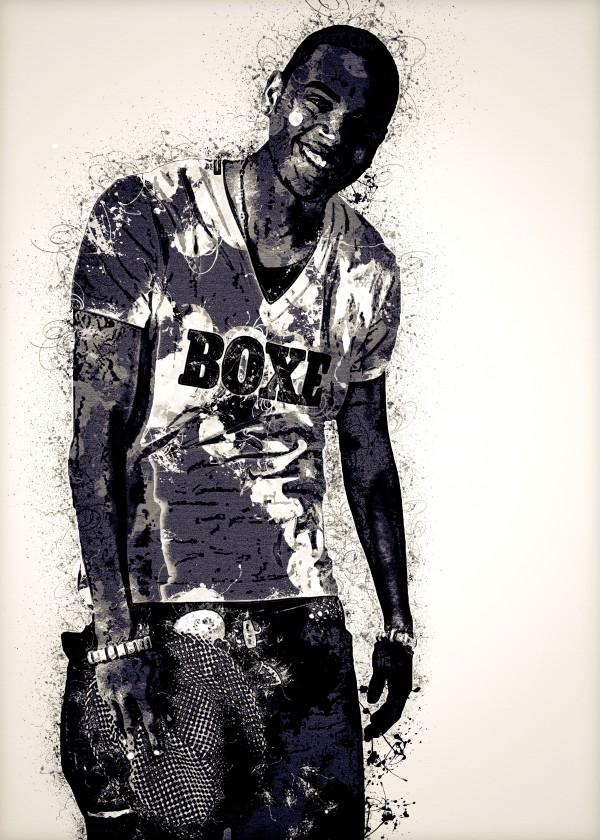 Chris Brown Vintage 5 Collection by RANGGA OZI