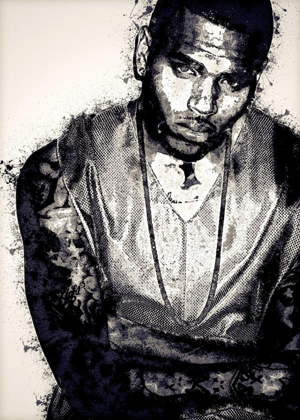 Chris Brown Vintage 6 Collection by RANGGA OZI
