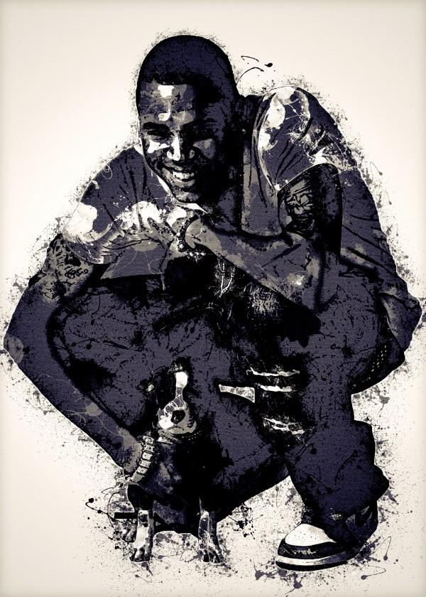 Chris Brown Vintage 4 Collection by RANGGA OZI