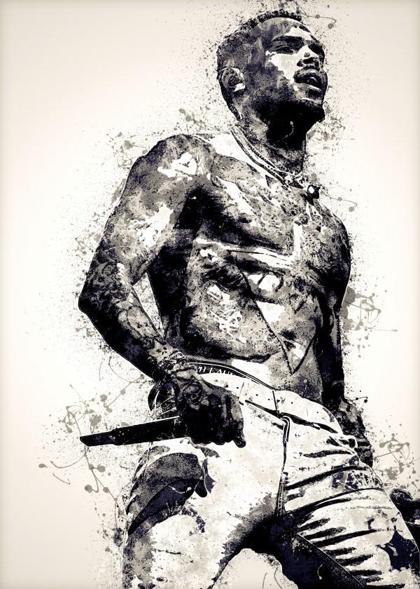 Chris Brown Vintage 3 Collection by RANGGA OZI