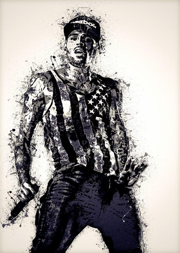 Chris Brown Vintage by RANGGA OZI