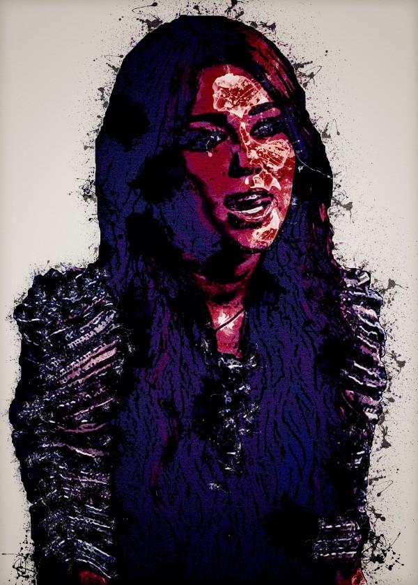 Miley Cyrus in Art 17 by RANGGA OZI