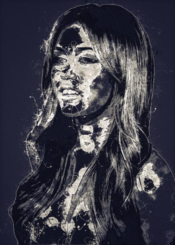 Miley Cyrus in Art 20 by RANGGA OZI