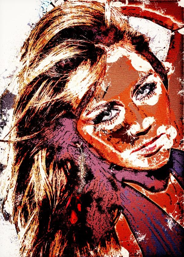Miley Cyrus in Art 12 by RANGGA OZI
