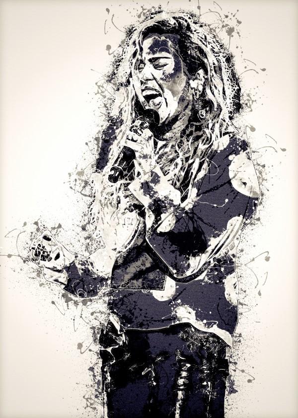Miley Cyrus in Art 1 by RANGGA OZI