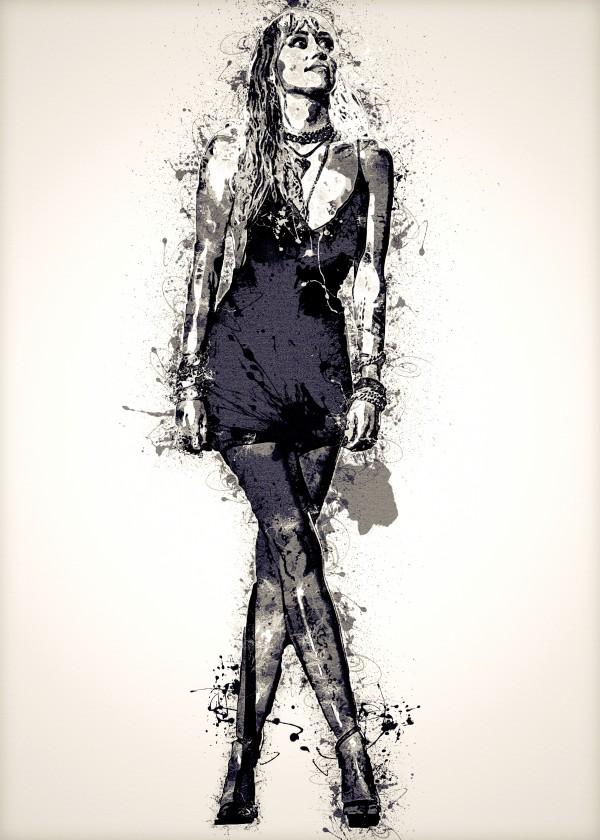 Miley Cyrus in Art 33 by RANGGA OZI