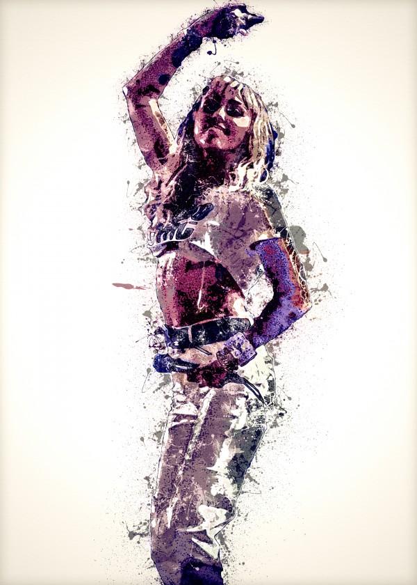 Miley Cyrus in Art 30 by RANGGA OZI