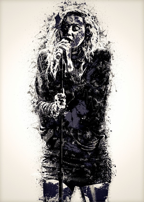 Miley Cyrus in Art 27 by RANGGA OZI