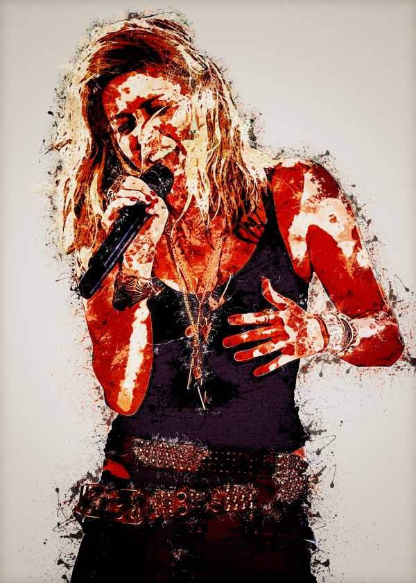 Miley Cyrus in Art 21 by RANGGA OZI