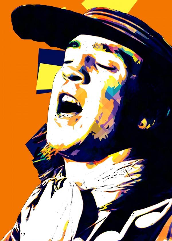 Stevie Ray Vaughan Pop Art 16 by RANGGA OZI