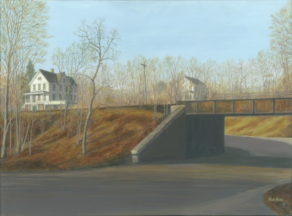 Botsford Underpass - Newtown Scenes  18X24 by Rick Kuhn
