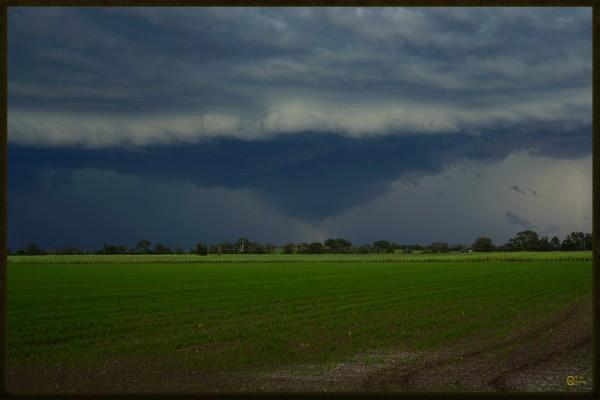 coraki storm by Stephen James