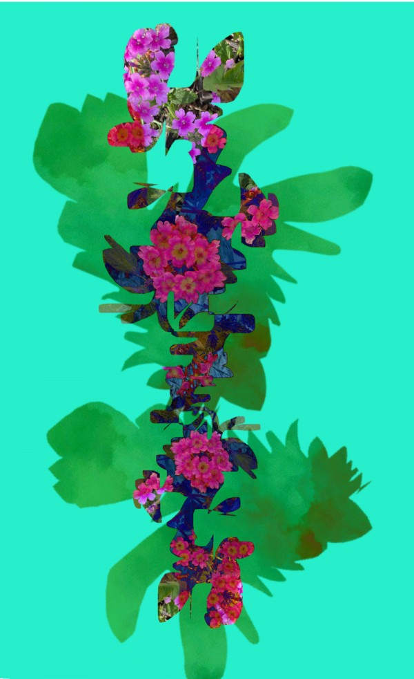 Floral Collage Digital Download