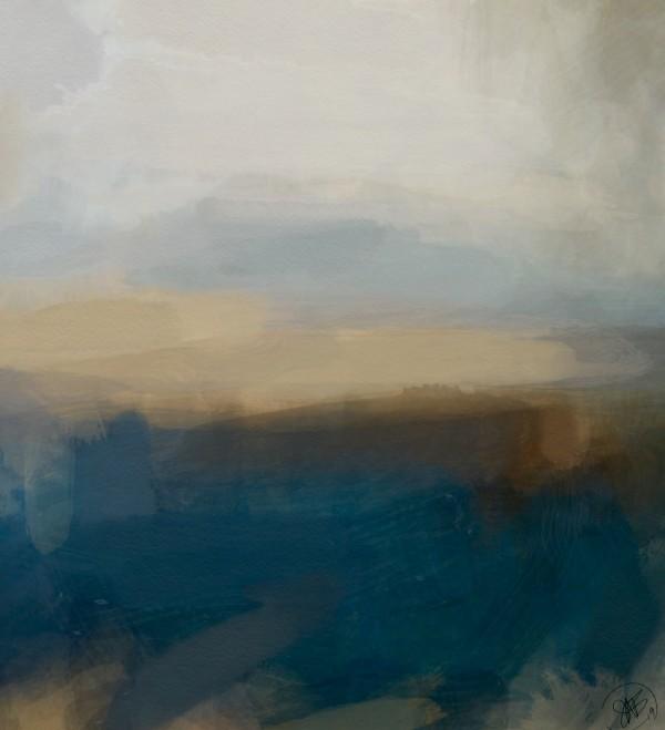 Lapis Blue Landscape Digital Download
