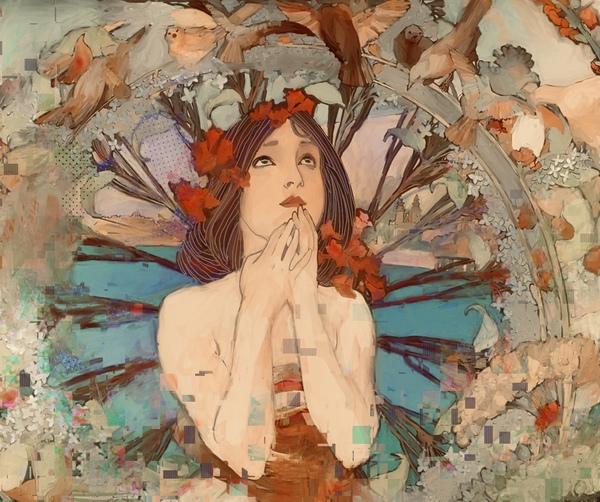 Art  Nouveau Redux Digital Download
