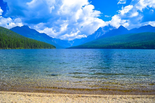 Bowman Lake by Scene Again Images: Photography by Cliff Davis