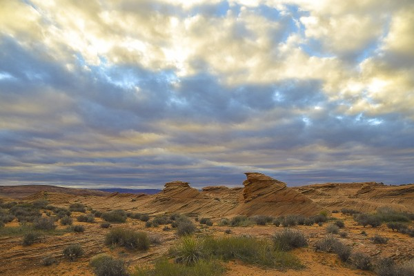 Desert Clouds by Scene Again Images: Photography by Cliff Davis