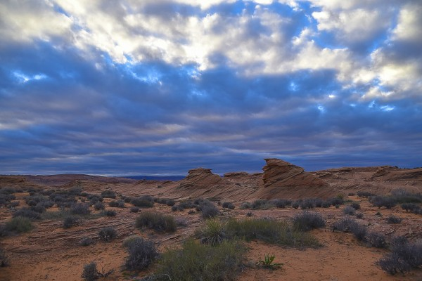 Desert Storm by Scene Again Images: Photography by Cliff Davis
