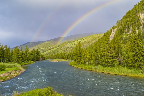 Gallatin Rainbow by Scene Again Images: Photography by Cliff Davis