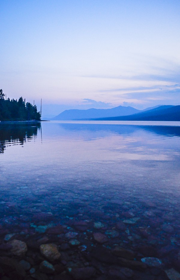 Lake McDonald by Scene Again Images: Photography by Cliff Davis