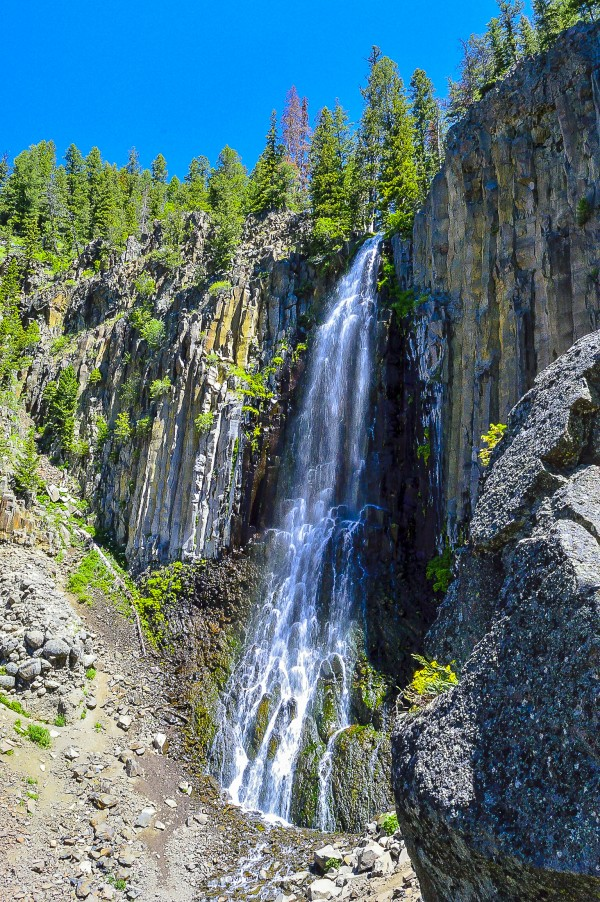 Palisades Falls by Scene Again Images: Photography by Cliff Davis
