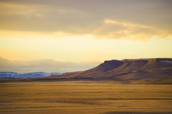 Square Butte by Scene Again Images: Photography by Cliff Davis