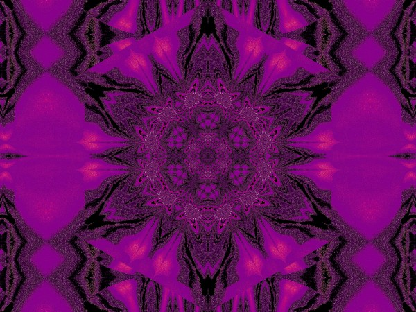 Purple Desert Song 14 by Sherrie Larch