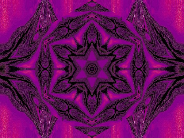 Purple Desert Song 15 by Sherrie Larch
