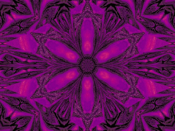 Purple Desert Song 16 by Sherrie Larch