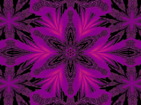 Purple Desert Song 33 by Sherrie Larch