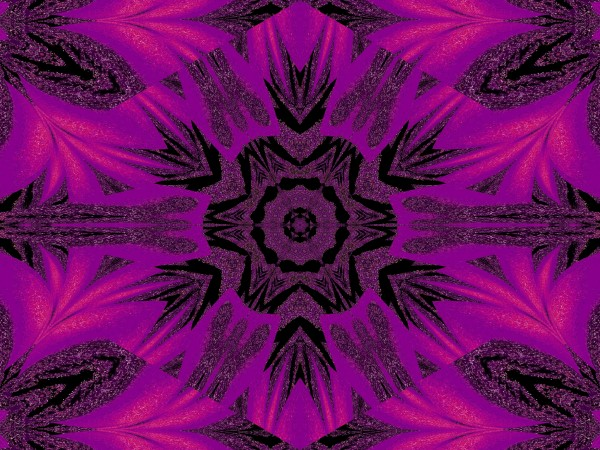Purple Desert Song 34 by Sherrie Larch