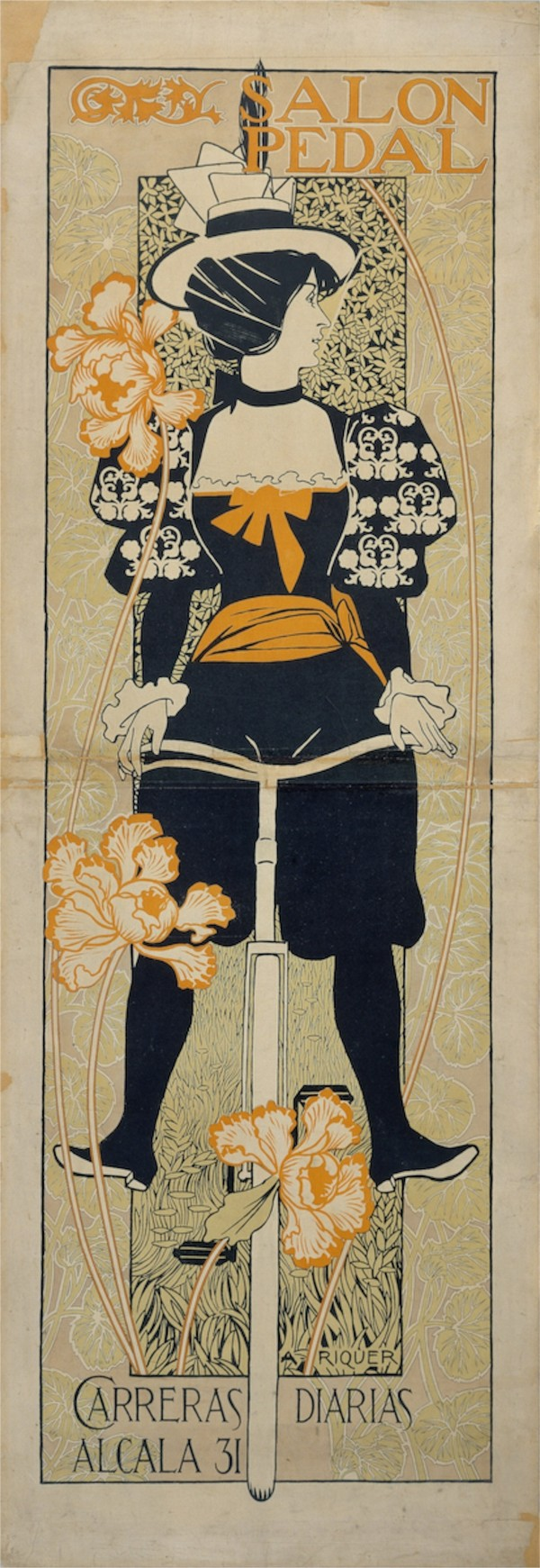 Alexandre-de-Riquer---Salon-Pedal  Print