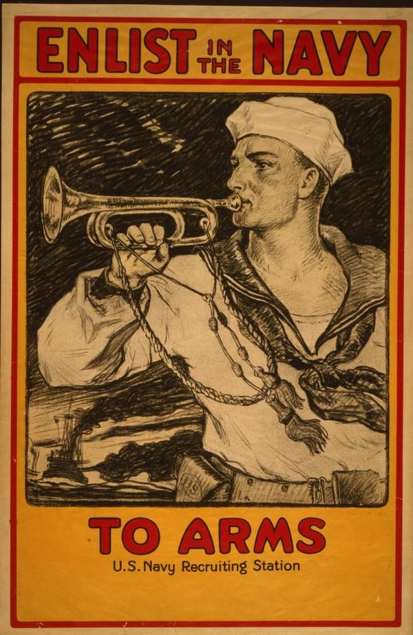 Enlist in the Navy  Print