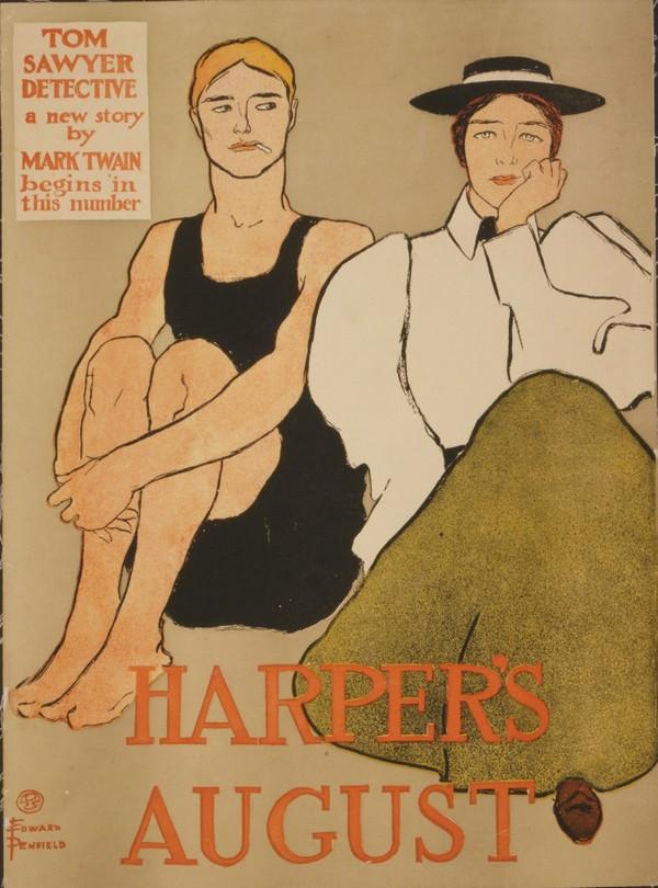 Harpers August  Print