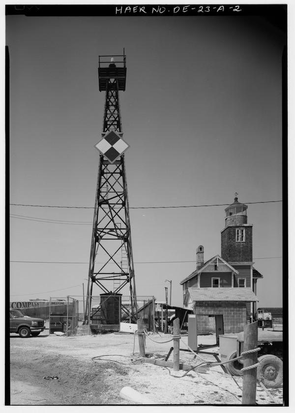 Mispillion-Beacon-Lighthouse-Delaware  Print