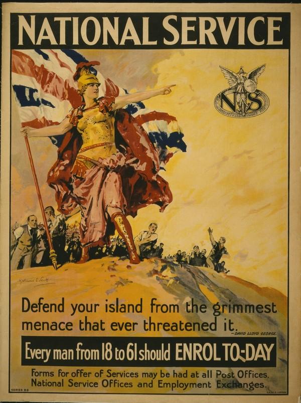 National Service  Print