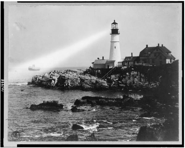 Portland-Head-Light-Portland-Maine  Print