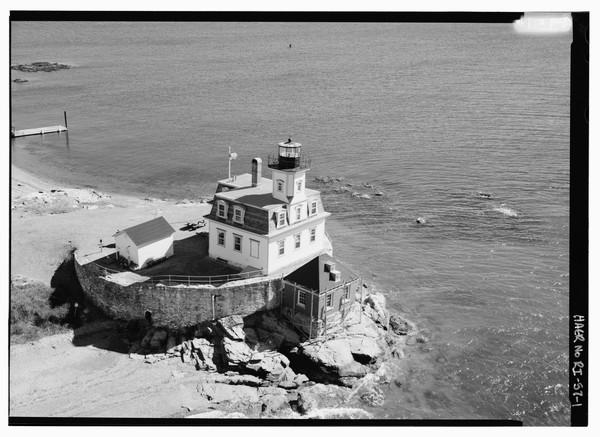 Rose-Island-Lighthouse-Rhode-Island  Print