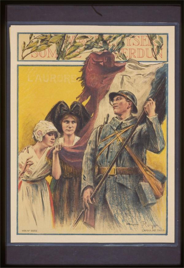 Vintage---French-Liberation  Print
