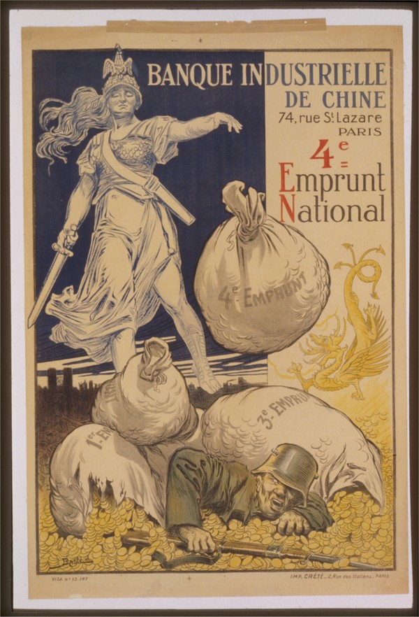 Vintage---German-Defeat  Print
