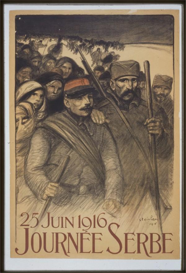 Vintage---Journey-to-Serbia  Print