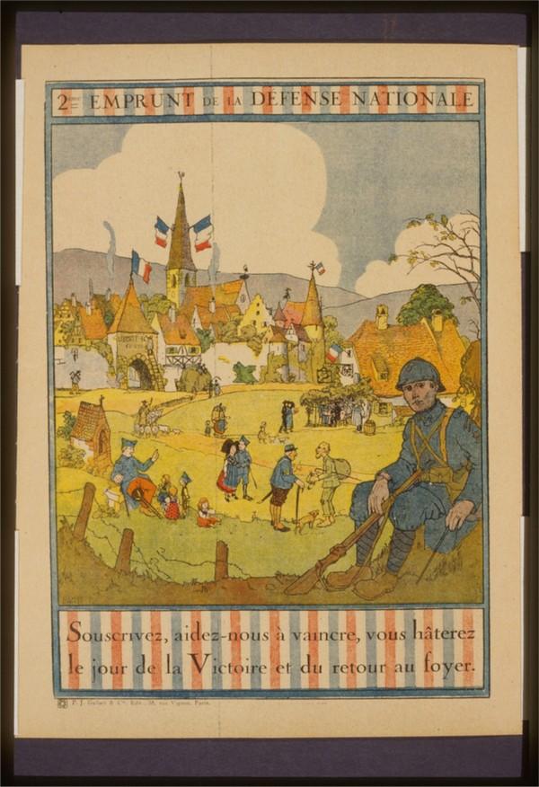 Vintage---Soldier-resting  Print