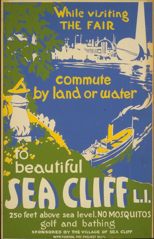 Visit Sea Cliff  Print