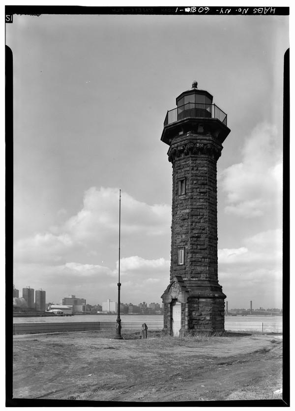 Welfare-Island-Lighthouse-NY  Print