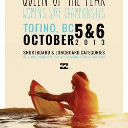 2013 BILLABONG QUEEN OF THE PEAK Surf Competition Print by Surf Posters