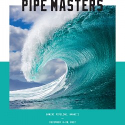 2017 BILLABONG PIPE MASTERS Competition Print by Surf Posters