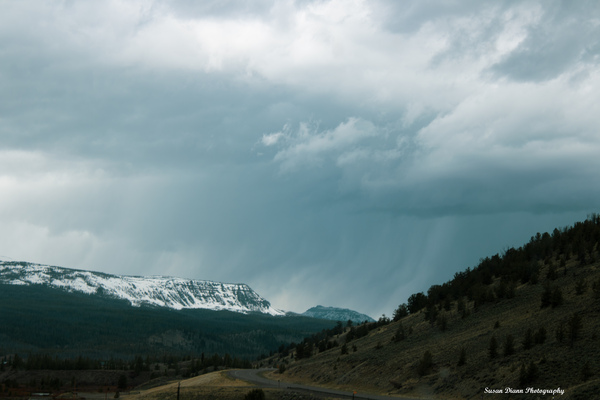Angry Sky by Susan Diann Photography