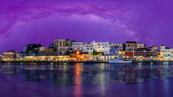 Chania Pano 2 by Telly Goumas