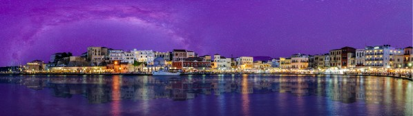 Chania Pano by Telly Goumas