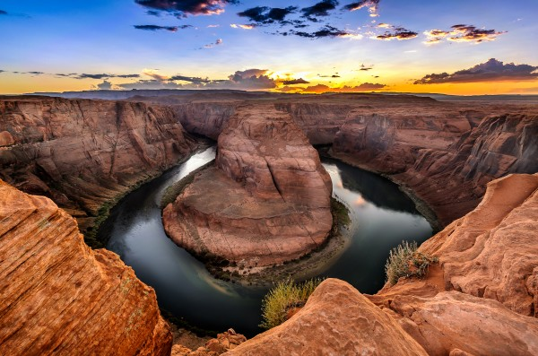 Horseshoe Bend Arizona by Telly Goumas